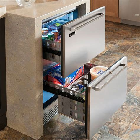 Perlick Freezer Drawers by Perlick 24 Quot Signature Series Dual Zone Refrigerator