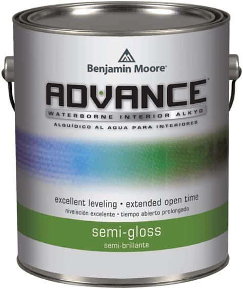 benjamin moore advance semi gloss waterborne interior