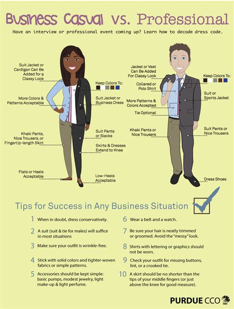 Dress to Impress: Business Casual vs. Professional
