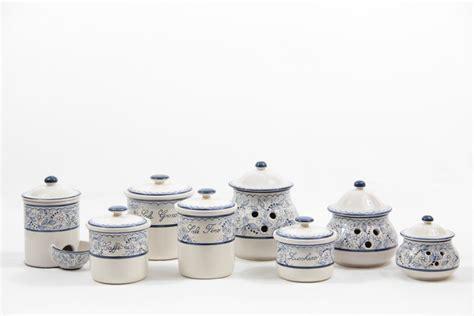 barattoli cucina set barattoli per cucina in ceramica teate liberati