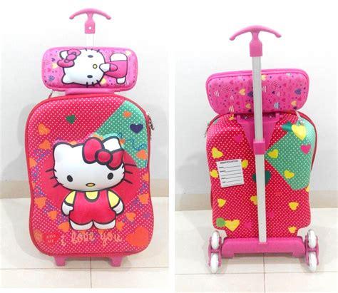Tas 3in1 Anak Tas Pink Sekolah Anak Tas Murah Backpack Anak Garsel Gyn 2 tas trolley 3d anak sekolah katalog 5 grosirimpor