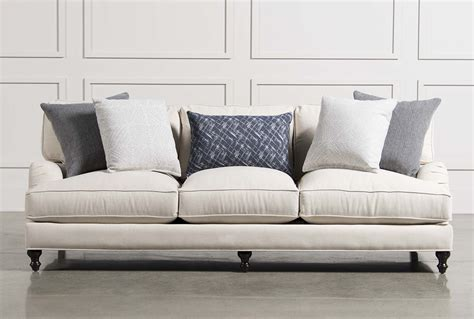 living spaces sofa abigail sofa living spaces
