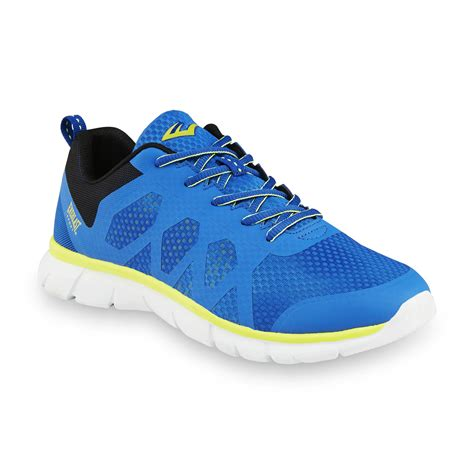 kmart mens athletic shoes everlast 174 sport s artifice blue yellow athletic shoe