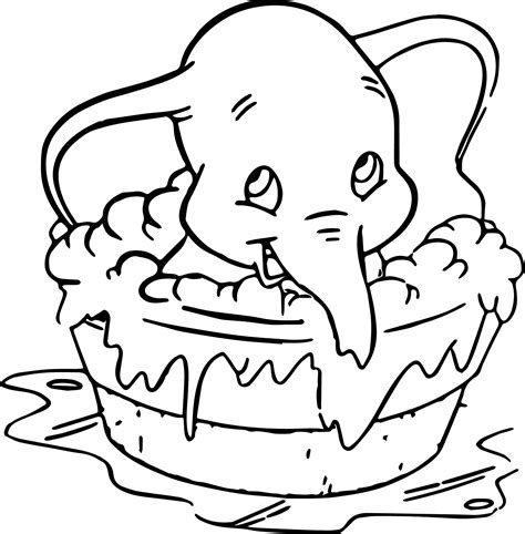 coloring pages dumbo elephant dumbo coloring pages coloringsuite com