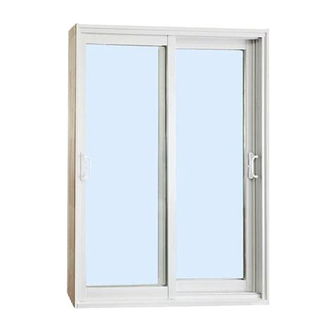 Stanley Doors 72 In X 80 In Double Sliding Patio Door Sliding Patio Doors