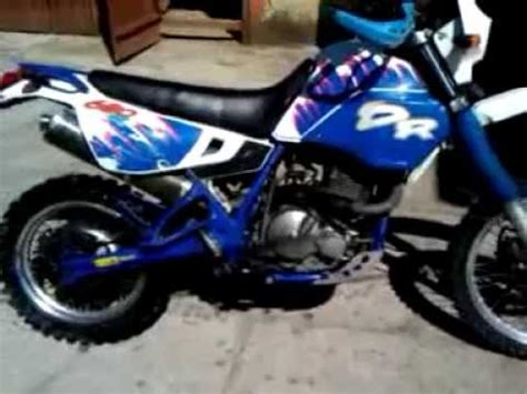Suzuki Dr 125 Exhaust Suzuki Dr 125 Sound Rev Exhaust Custom Bike
