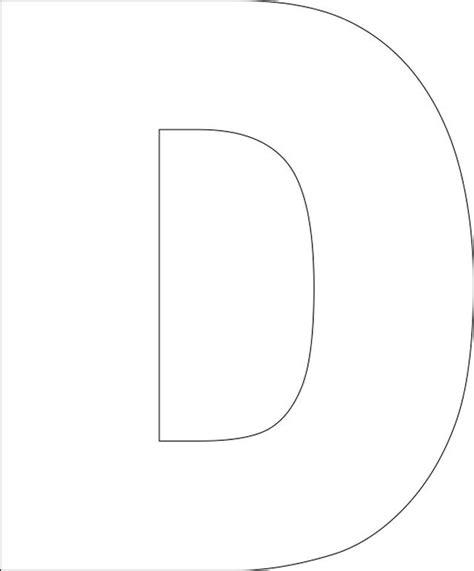 capital letter d template best 25 alphabet templates ideas on