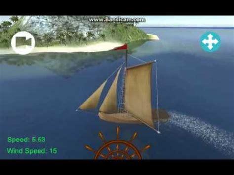 sailing boat unity unity sailing boat prototype android youtube