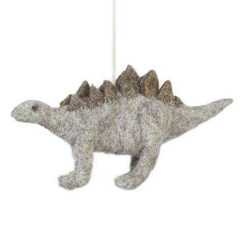 Handmade Dinosaur - handmade felt stegosaurus dinosaur by felt so