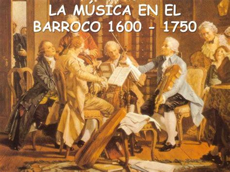 imagenes barroco musical la m 250 sica en el barroco