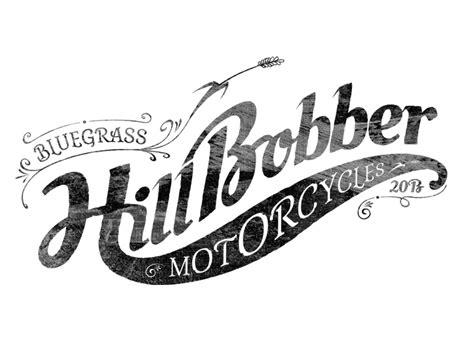 design a motorcycle logo martin hofmann bluegrass hill bobber motorcycles logo design