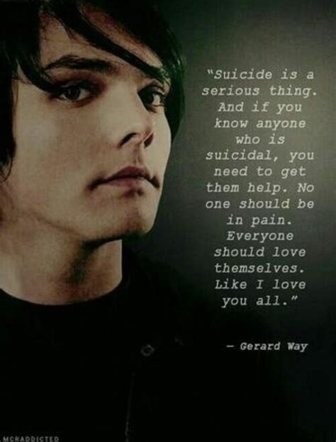 gerard way quotes about quotesgram