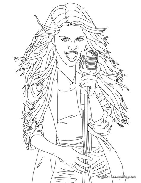 Selena Gomez Coloring Pages Printable Coloring Pages Of Selena Gomez