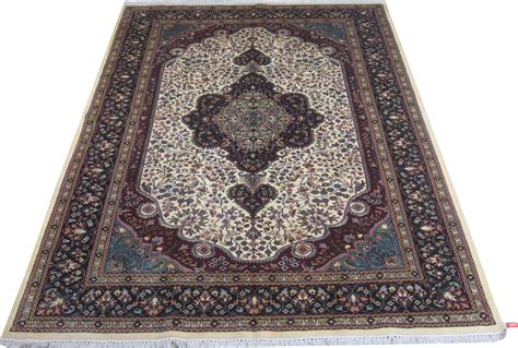 Handmade Rugs For Sale - ivory 6x9 area rugs sale silk kashmir cheap rugs for sale