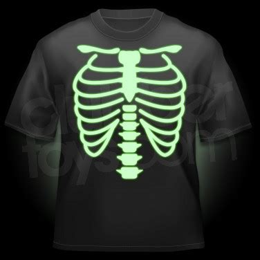 glow in the paint t shirt glow in the skeleton t shirt