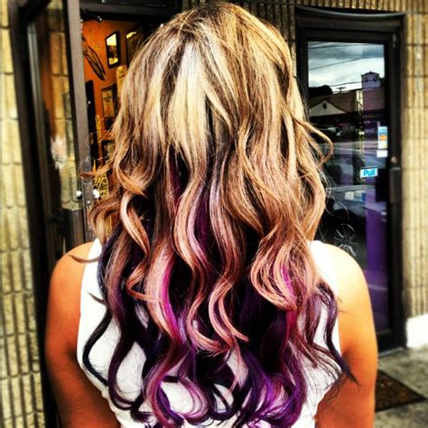 how to darken hair underneath best 25 purple underneath hair ideas on pinterest dyed