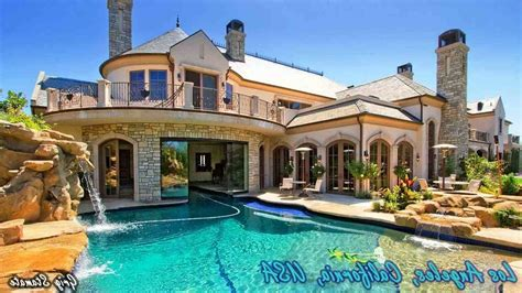 the images collection of beautiful homes with pools