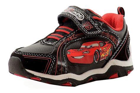 ez light up shoes disney pixar cars toddler boy s black fashion light up