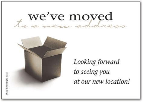 New Location Concrete Ontario We Moved Sign Template