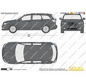 The Blueprintscom  Vector Drawing Fiat Freemont