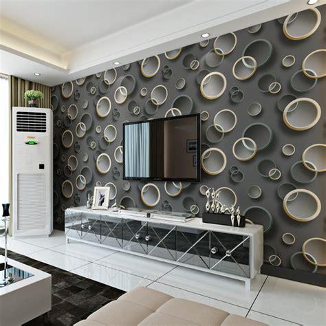 Wallpaper Designs For Living Room Wall   Living Room