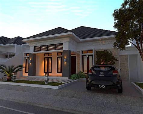 rumah minimalis sederhana teras bata house design