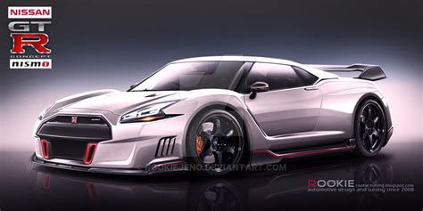 gtr r36 nissan gt r r36 concept nismo white by rookiejeno on