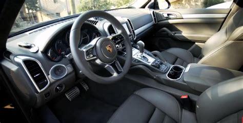porsche cayenne 2016 interior 2016 porsche cayenne s diesel interior exterior test