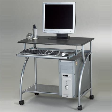 Small Metal Computer Desk Eastwinds Argo Mobile Metal Computer Desk 947