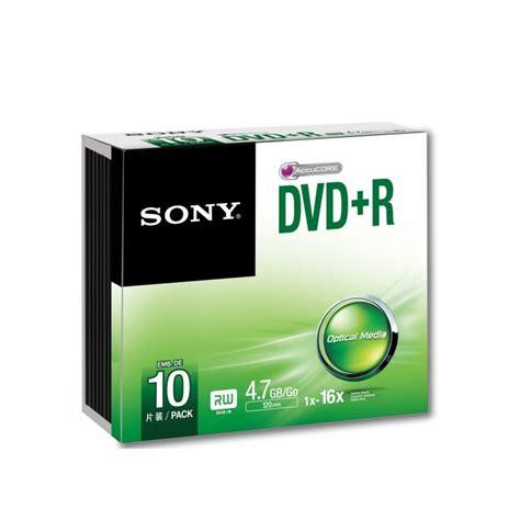 Dvdr Sony sony dvd r 16x 10 10dpr47ss