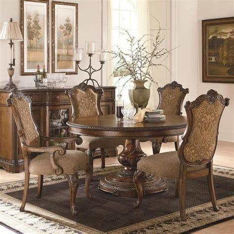 nebraska furniture mart dining room tables pemberleigh 5 dining set in burnished