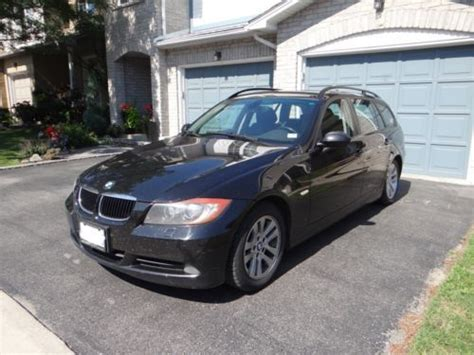 where to buy car manuals 2006 bmw 6 series electronic throttle control purchase used bmw 2006 325xi wagon manual 6 speed rare e91 e90 e92 in scarborough ontario