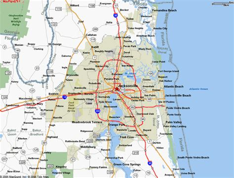 jacksonville florida map map of jacksonville florida jorgeroblesforcongress