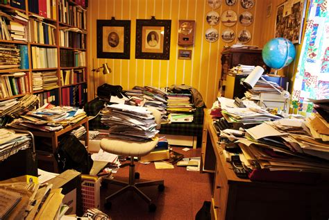 cluttered house messy work spaces spur creativity while tidy environments