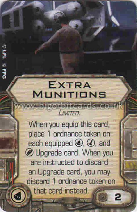 x wing upgrade card template munitions upgrade cards x wing miniatures