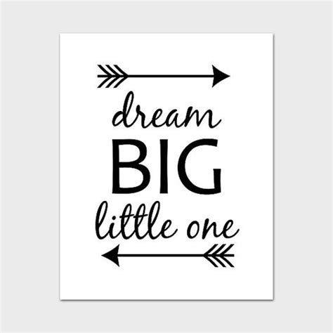 printable dream quotes quote printable 8x10 instant download dream big little