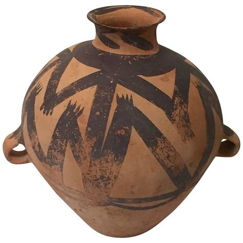 2nd century bc ancient jar from the neolithic