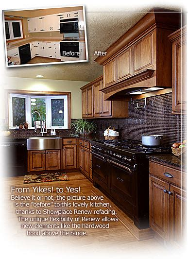 reface kitchen cabinets before after 3 day kitchen bath custom cabinets refacing
