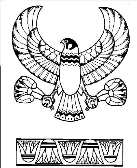 printable egyptian art egypt art coloring pages and egypt on pinterest
