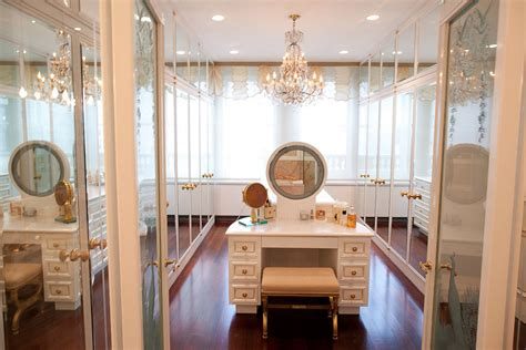 Vanity Inside Closet by Another Insanely Expensive New York Apartment Hits The