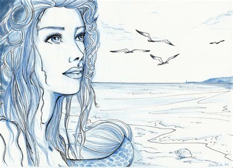 doodle speed drawing sirena speed drawing by silviadimauro on deviantart
