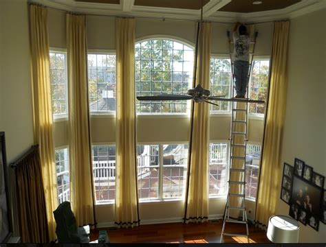 Two Story Curtains Curtains For Two Story Windows For The Home Pinterest