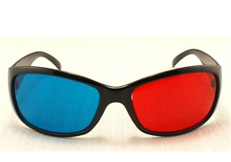 best sale blue anaglyph 3d dimensional 3 d glasses dvd