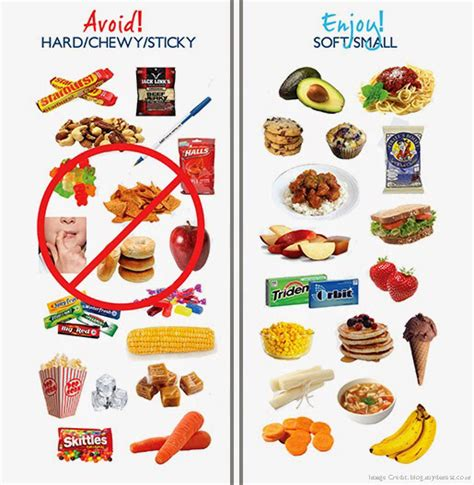 types of food 4 types of food to avoid while you braces robert d walker orthodontics
