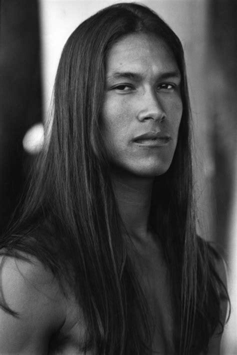 how to do a long native american male hair styles rick mora model hermosa beach california us