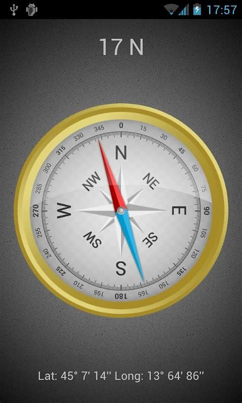 android compass app compass plus free android app the free compass plus app to your android
