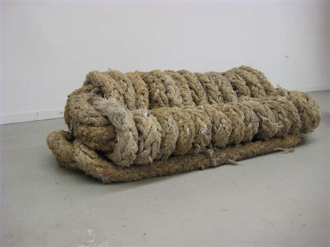 rope couch rope furniture by alex fabrizio at coroflot com