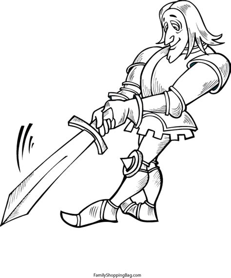 knight sword coloring page knight with sword 560659 gif