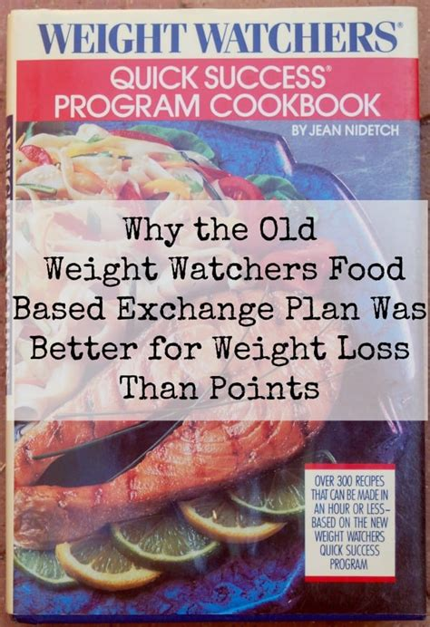 weight watchers success tips smart points edition fast and easy diet cookbook and home recipes for weight loss books weight watchers exchange program 1980s 1990