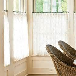 how to hang cafe curtain rods 25 best ideas about lace curtains on pinterest curtain